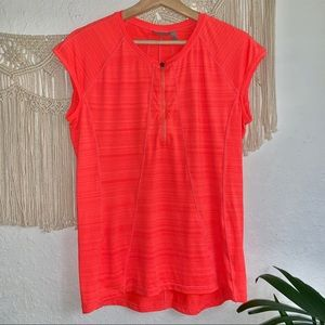 Athleta Coral Pacifica Shirt Size L